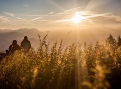 Sunrise au col de l'Alpette