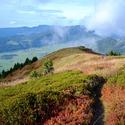 Trail en Vercors : magie de l'automne