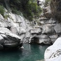 Sortie Canyon de Miraval