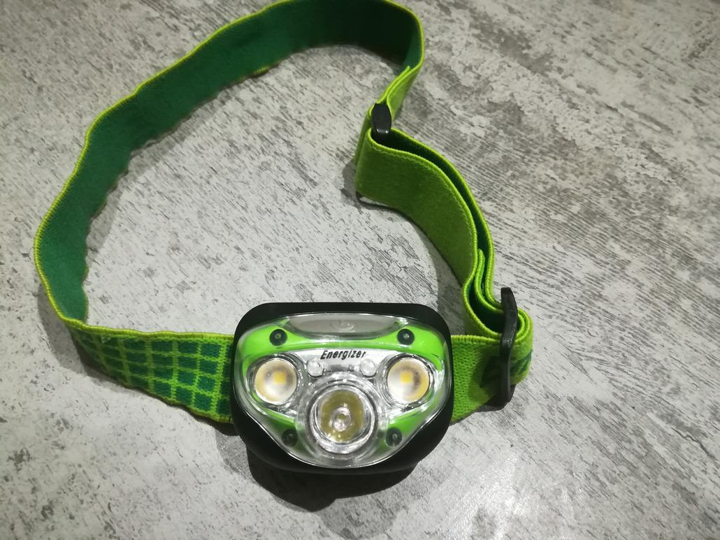 Energizer Frontale Energizer 5 LED vision HD