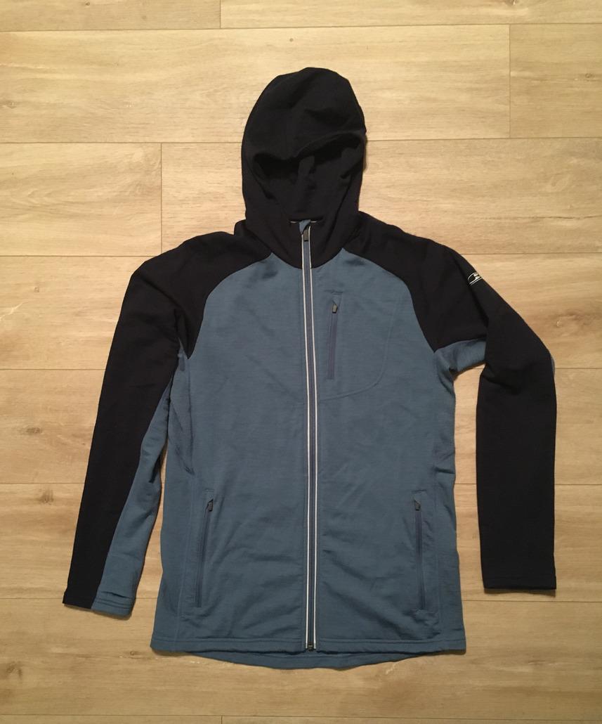 Icebreaker Quantum LS Zip Hood