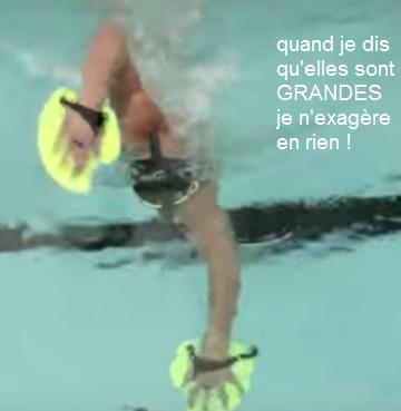 Michael Phelps Plaquettes de natation