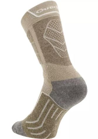 chaussettes QUESHUA 2 paires MH 900 beige
