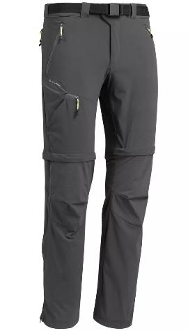 Décathlon Pantalon modulable de randonnée montagne - MH550 - Homme