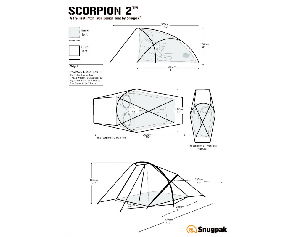Snugpak Scorpion 2