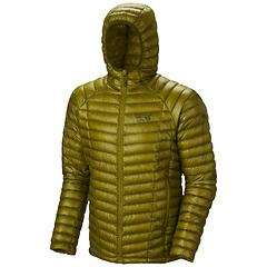 Mountain Hardwear Ghost Whisperer Hooded Down Python Green