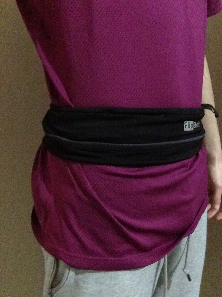 Flipbelt ceinture Flipbelt Zip