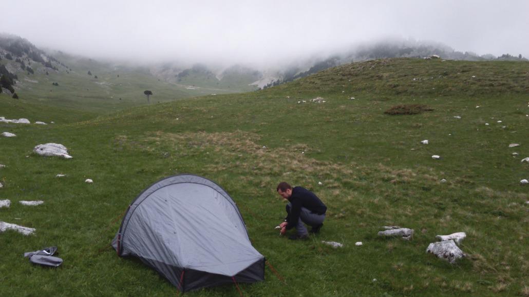 Quechua QuickHiker Ultralight 2 : Le confort de portage... et au bivouac