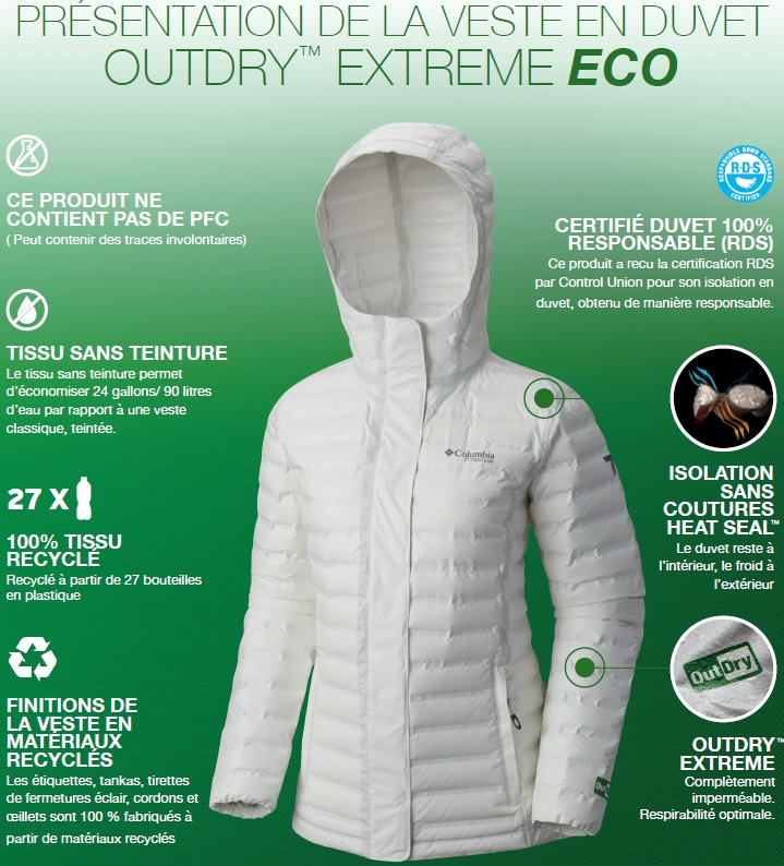 Extreme Outdry Eco Avis Columbia Down B6wTnxPqY