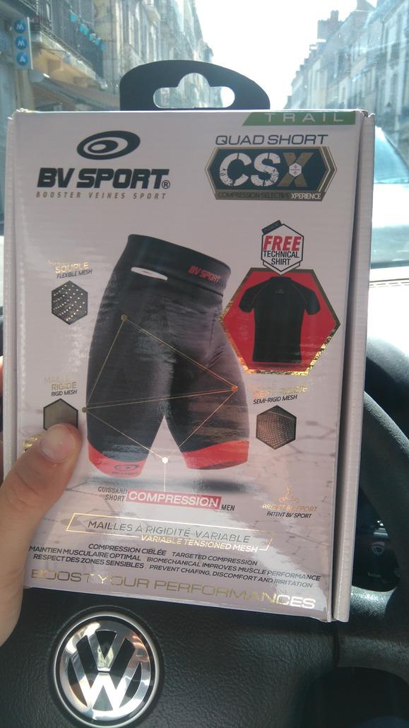 BV Sport Cuissard Trail CSX