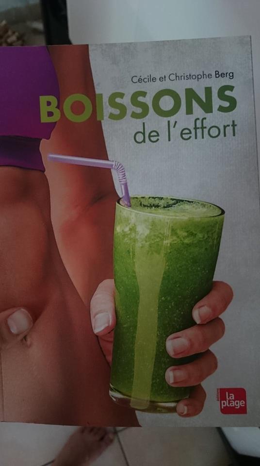 Edition La plage Les boissons de l'effort