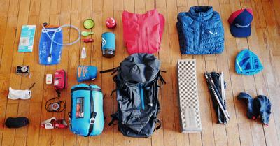 Rando bivouac en autonomie : le contenu du sac à dos