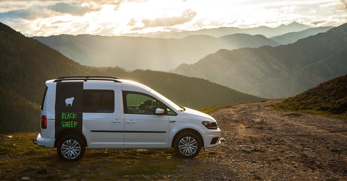 Test Privé - Blacksheep VAN Campervan Mini