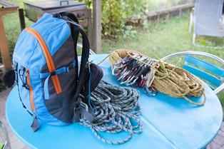 Organiser son sac pour une grande voie