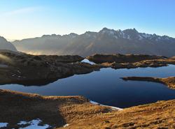 Fin de journée à l'Alpe d'Huez
