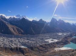 Le Cho Oyu et son glacier