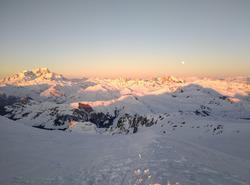 Mont Blanc depuis le Grand Mont