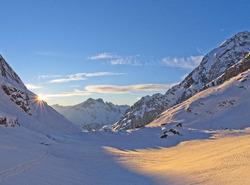 Montée au Col de la Vanoise
