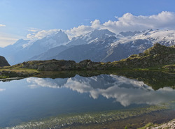 Reflet au plateau d'Emparis