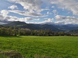 Vercors depuis Villarnet