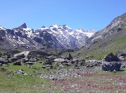 La vallée du glacier du Vignemale