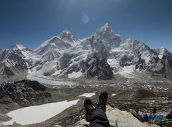 Magnifique vue sur l'Everest