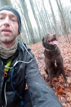 Petite sortie avec le chien