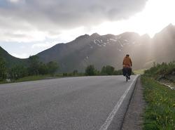 Vélofoten - Vers le Vagakalen