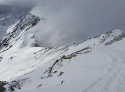 Descente du Pic du Midi de Bigorre