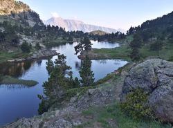 Bivouac au lac Achard