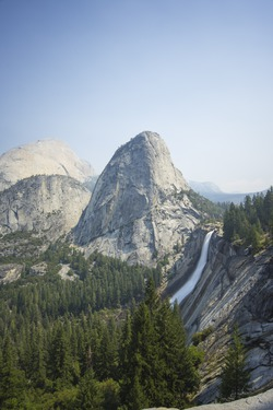 Nevada Falls, Yosemite National Park, U.S.A