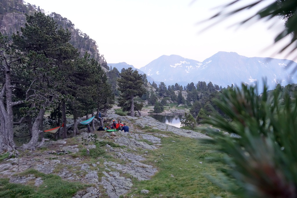 Lac Achard - Bivouac